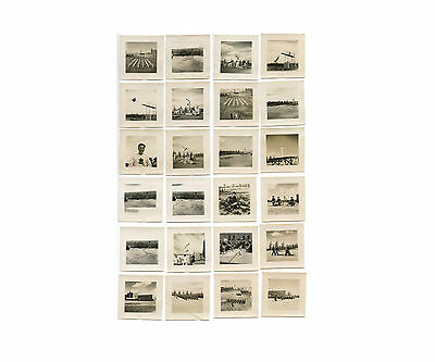 Lot of 24 Snapshots, Poss. of British Empire Games & Military Event, c. 1930-40