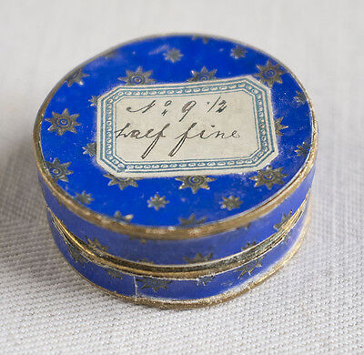Small box antique gold metal sequins in box  - Ladies Work Society