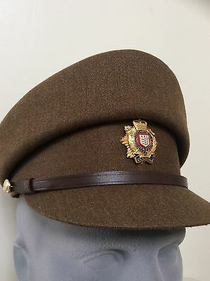 BRITISH ARMY OFFICER FEMALE SERVICE DRESS CAP RLC BADGE Royal Logistics Corps