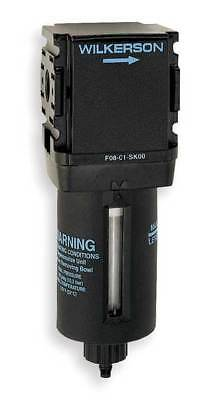 WILKERSON F08-02-SK00 Compressed Air Filter, 150 psi, 1.58 In. W