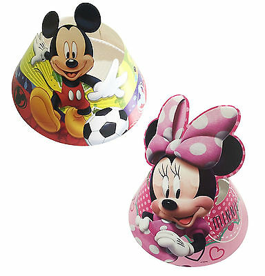 6 pcs Children Birthday Minnie Mickey Mouse Theme Party Paper Hats Party Supply