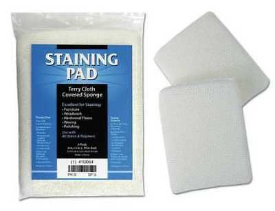 DEROYAL SP-3 Staining Pad,5 In x 4 In,Pk 3