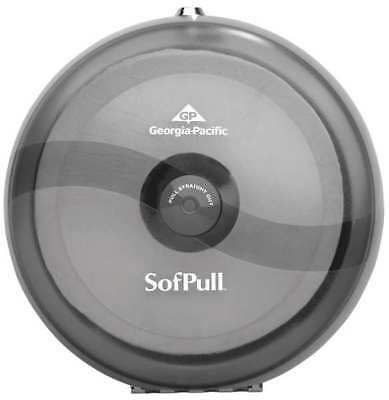 Sofpull Toilet Paper Dispenser,Centerpull,(1) Roll GEORGIA-PACIFIC 56501