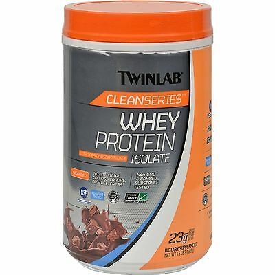 Twinlab Cleanseries Whey Protein Isolate - Chocolate - 1.5 lb