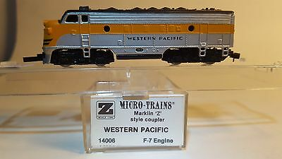 MTL Z 14006 F7 WP Powered A-Unit Locomotive ROUGH RUNNING (MARKLIN COUPLERS)