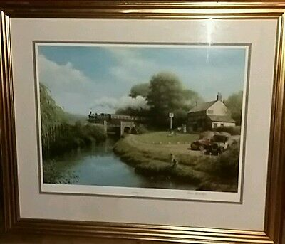 """Riverside Local "" by Don Breckon,STAMPED,SIGNED,LIMITED EDITION Print"