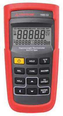 Thermocouple Thermometer,2 In,K, J, E, T AMPROBE TMD-52