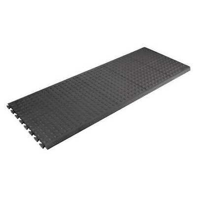 5 ft. Interlocking Antifatigue Mat, Black ,Wearwell, 502