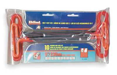 "Hex Key Set, 9.00"", Eklind, 53910"