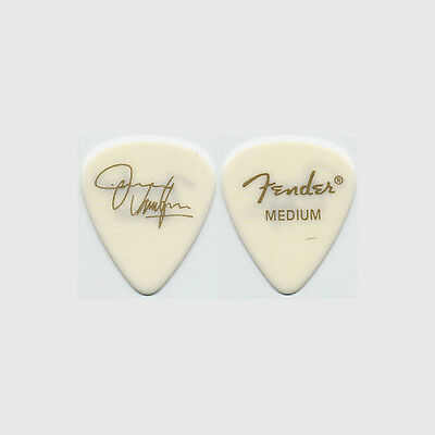 Jimmie Vaughan Jimmie Vaughan authentic 2001 tour Guitar Pick