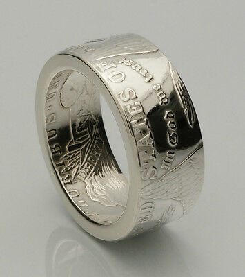 """Morgan Dollar """"LITE"""" - Coin Ring - 90% Silver - *Top Quality* - Sizes 6-14"""
