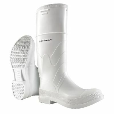 ONGUARD 810120733 Knee Boots, Men, 7, Steel Toe, White, 1PR