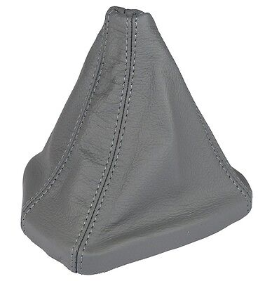 Shift Cover Boot compatible with BMW 5 series e39 100% Real leather in grey
