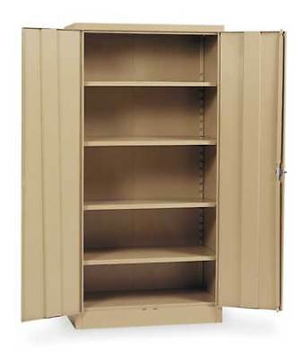 EDSAL 1UFD6 Storage Cabinet, Tan, 78 In H, 36 In W