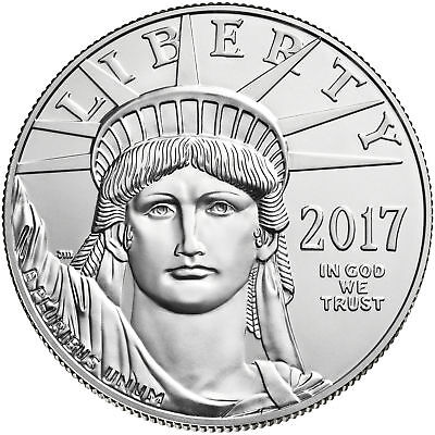 2017 - $100 1oz American Platinum Eagle BU