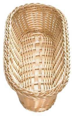 Oblong Food Serving Basket, Natural ,Tablecraft Products Company, M1118W