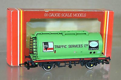 Hornby R023 Tsl Pfizer Chemicals Londinese Traffic Services Carro Cisterna 4 Mib