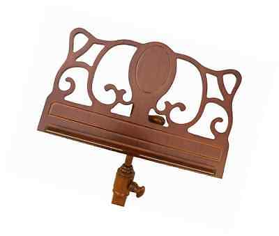 Christino Artist Wooden Music Stand - Ornately Carved