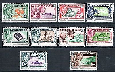 Pitcairn Islands 2015 75Th Anniversary Set Kgvi-Style Mnh