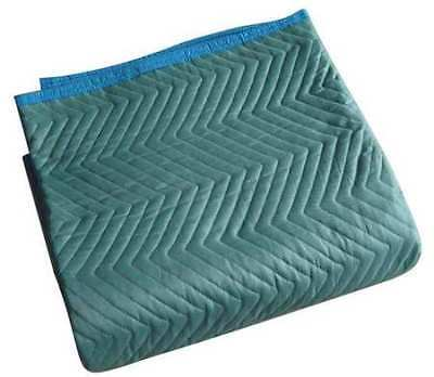 Quilted Moving Pad,L72xW80In,Green,PK6 ZORO SELECT 2NKT2