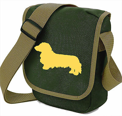 Dachshund Long Haired Dog Bag Shoulder Bags Xmas Gift Longhaired Dachshunds