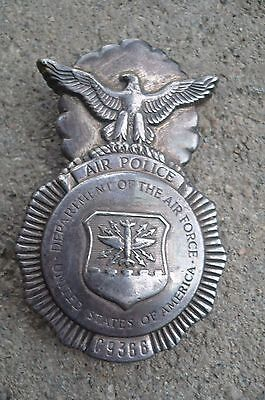 Obsolete Air Force Police Badge Early Type