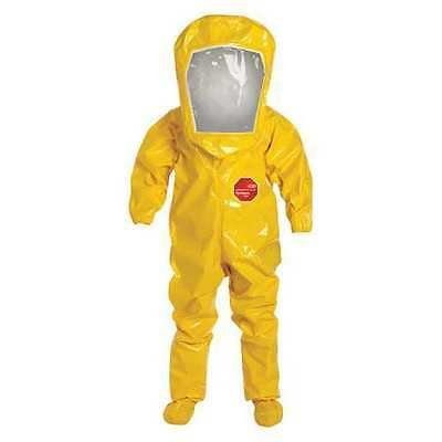 DUPONT BR528TYL3X000100 Encapsulated Suit,3XL,Tychem BR