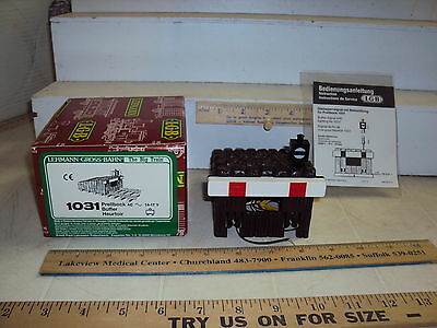 Lgb Train #1031 Track Bumper/buffer Boxed Lighted Unused Looking  Must See
