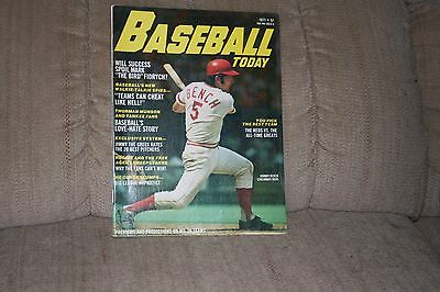 Baseball Today with Johnny Bench on the cover