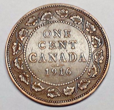 1916 Canadian LARGE CENT You Grade  WITH FREE SHIPPING