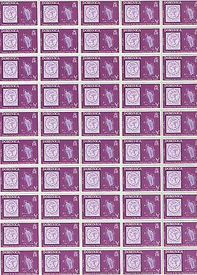 Dominica Scott# 389-391, Centenary of Dominican Postage, Unused OG, MNH, 1974