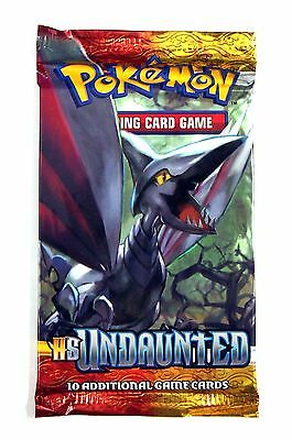 Pokemon TCG, HS Undaunted Booster Pack , New & Sealed Single