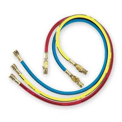 IMPERIAL 803-KCS Manifold Hose Set ,36 In,Red,Yellow,Blue