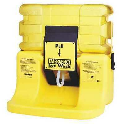 BRADLEY S19-921 On-Site Eyewash Station in Yellow