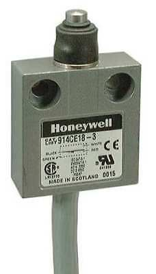 HONEYWELL MICRO SWITCH 914CE18-6 1NC/1NO SPDT Limit Switch Plunger IP 66, 67, 68
