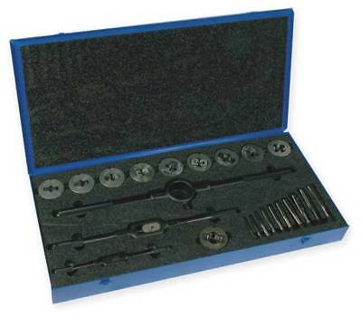 CLEVELAND C00611 Tap and Die Set, 1/4 to 1 In, 24 pc