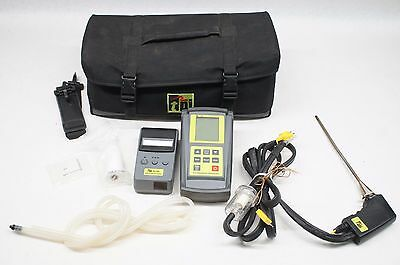 TPI 709 Combustion Efficiency Analyzer Kit w/ A740 Infrared Printer