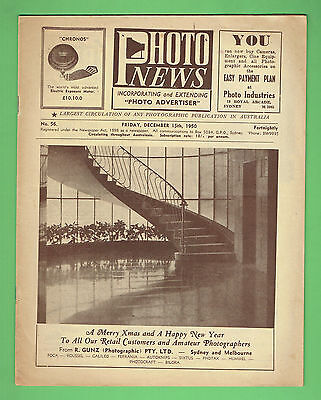 #T67. AUSTRALIAN PHOTO NEWS  MAGAZINE, DECEMBER 15th 1950