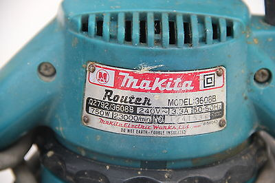 Makita Router 1/4'' 3608B 750W Made in Japan