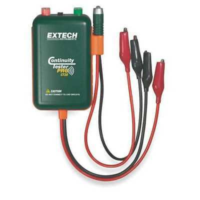 EXTECH CT20 Continuity Tester,9V,9 In Test Leads