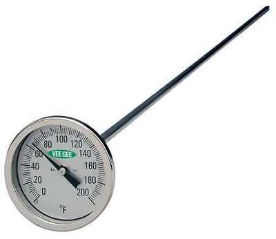 Compost Dial Thermometer, Vee Gee, 82200-36