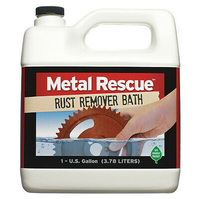 METAL RESCUE METALRESCUE1GAL Rust Remover,Non-Toxic,PH Neutral