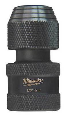 MILWAUKEE 48-03-4410 Impact Adapter, 1/2 Dr In, 1/4 Hex Shank