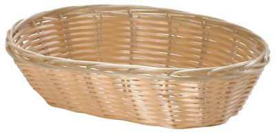 Oval Handwoven Food Serving Basket, Natural ,Tablecraft Products Company, 1174W