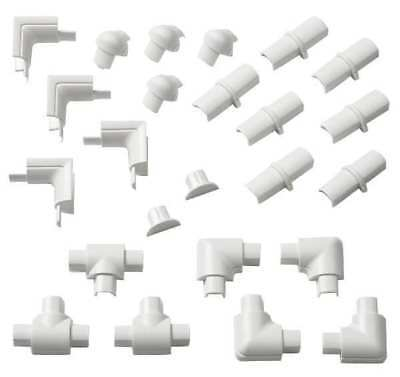 D-LINE US/1608SAP24/GR Accessory Pack,White,ABS,Accessory Kits
