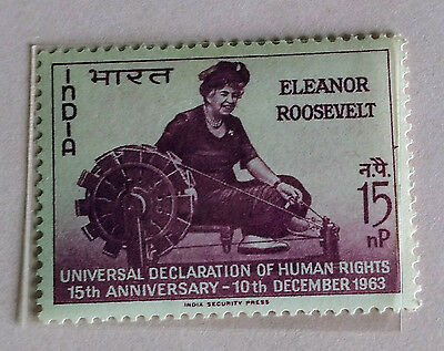 110. India 1963 Stamp Declaration Of Human Rights. Mlh