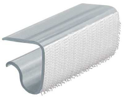 EZ CLIP BY FASTENATION EZCLIP Table Skirting Clip,Poly,PK100