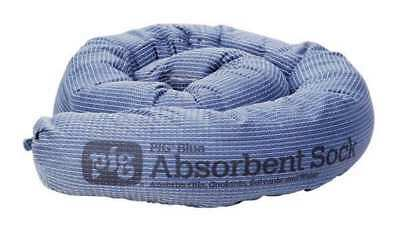 NEW PIG PIG238 Absorbent Sock, Blue, 9 gal., PK12