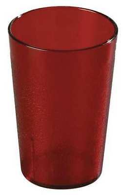 CARLISLE 552610 Tumbler,Stackable,8 oz.,Ruby,PK72