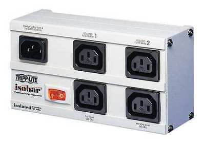 """7"""" Isolated Filter Surge Protector Outlet Strip, Tripp Lite, EURO-4"""